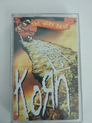Korn - The Very Best Cassette Tape VERY RARE Russian Edition