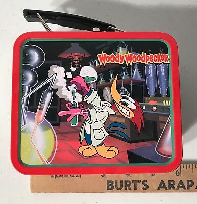 Woody Woodpecker Walter Lantz Tin  Lunchbox Mint Condition