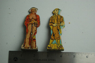 Vintage 1930s-40s Tin Litho Soldiers Toys, American Indian, Infantry Private