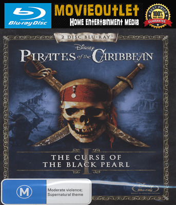 Pirates Of The Caribbean: The Curse Of The Black Pearl | Blu-ray | NEW | 2003