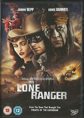 Disney The Lone Ranger (DVD, 2013) FREE SHIPPING
