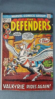 The Defenders issue #4 Valkyrie