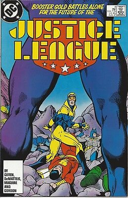 Justice League #4. Aug 1987. DC. Booster Gold! Captain Marvel! VF/NM.