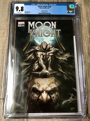 Moon Knight Variant issue #200 CGC 9.8 / Only 600 Copies / Skan