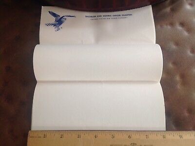 Vintage US Air Force Academy Writing Paper