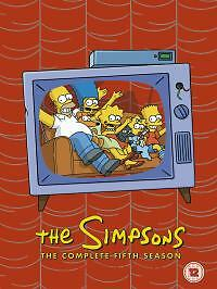 The Simpsons - Series 5 - Complete (DVD, 2005, 4-Disc Set)