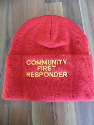 Community First Responder Beanie Hat (Listing No 2)
