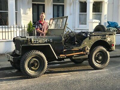 1962 Hotchkiss M201 British Airbourne Jeep (Exact copy of Willys Jeep)