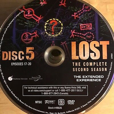 LOST SEASON 2 Disc 5 DVD Replacement FREE SHIPPING - $4 18 | PicClick