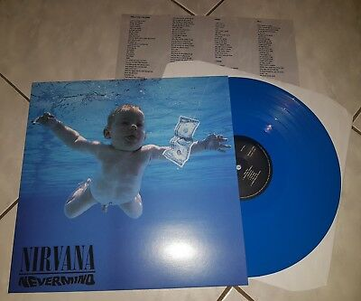 "12"" LP color Vinyl Nirvana - Nevermind / Soundgarden Pearl Jam Green River"