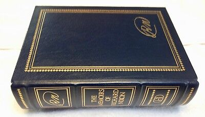 The Memoirs of Richard Nixon - Signed Limited Edition Grosset & Dunlap Leather
