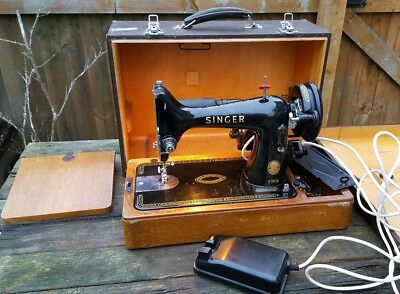 Vintage Sewing Machine - Singer 99k - Collectable Retro Equipment