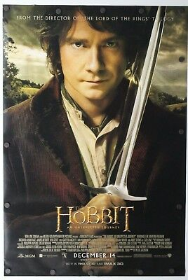 """The Hobbit: An Unexpected Journey 2012 DS Original Movie Poster 27"""" x 40"""""""