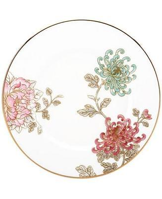 """LENOX ~ Marchesa  ~ One Painted Camellia  Accent Luncheon 9"""" Plate NEW"""