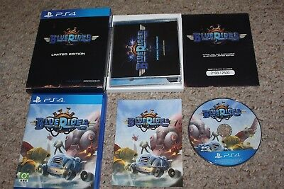 Blue Rider Limited Edition (Sony Playstation 4 ps4) Complete JAPAN Import JP LRG
