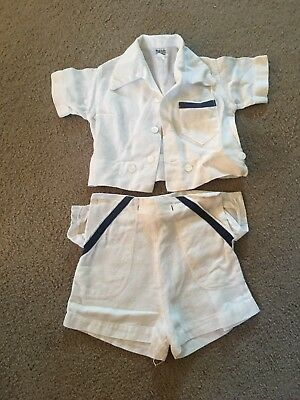 Vintage Best and Company Lilliputian Bazaar Top And Bottom Set Cotton Early 1900