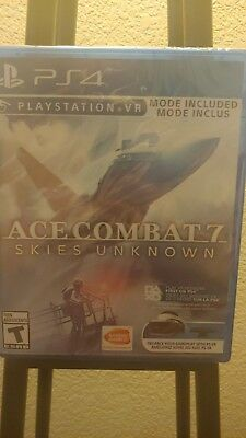Ace Combat 7: Skies Unknown (PlayStation 4) ***BRAND NEW* ps4 w/ collectors PIN
