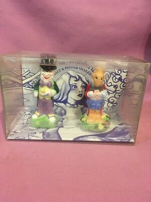 Paul Cardew Alice In Wonderland Madhatter March Hare Salt & Pepper Shakers New S