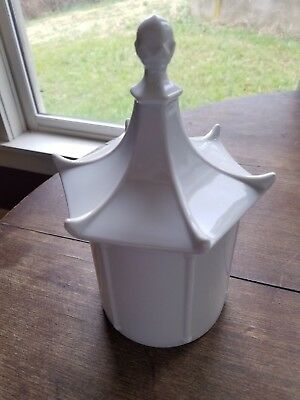 white porcelain jar blank