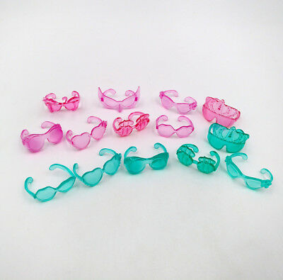 10pcs Glasses Littlest Pet Shop New Animal LPS Accessories Toy Sent At Random
