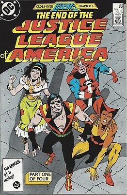 Justice League of America #258. Jan 1987. DC. VF-.