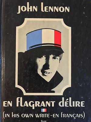 John Lennon In His Own Write h/b - Early1964 French Edition - Beatles