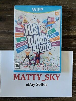 Just Dance 2019 Nintendo Wii U Video Game *Brand New / Sealed*
