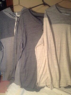 3 American Eagle Outfiters Men Shirts Size xL