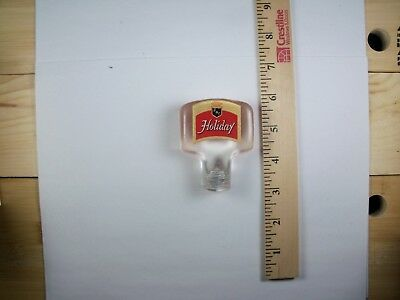 Holiday Lucite/acrylic Tap Handle  Potosi, Wisconsin