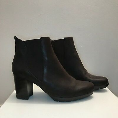 9c1345147b041 BROWN LEATHER ANKLE, heeled boots, size 7, tkmaxx, worn once ...