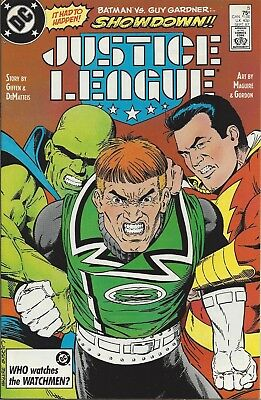 Justice League #5. Sep 1987. DC. With Captain Marvel! VF/NM.