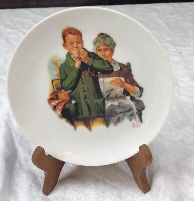 Collector Plate Norman Rockwell Small Reproduction