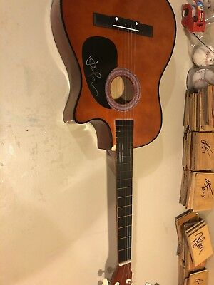 JASON MRAZ SIGNED Full-Size Natural Acoustic Guitar I'm