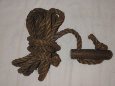 Vintage WW II British Paratrooper/Commando Toggle Rope #1