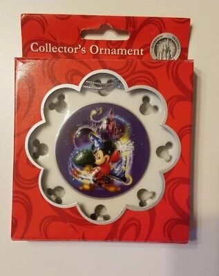 Walt Disney World Four 4 Parks One 1 World Christmas ornament Mickey Mouse