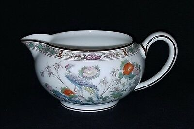 CREAMER  WEDGWOOD KUTANI CRANE excellent condition, never used England r4464