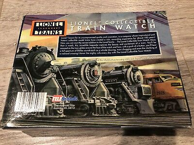 Lionel Collectible Train Watch Complete With Box