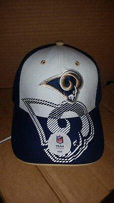 new concept 8a8a0 284e3 NEW NFL Los Angeles Rams Kids Youth Boys Girls Unisex Adjustable Cap Hat