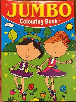 A4 Jumbo Children's Colouring Books Picture Colouring Book Fun Pictures Learning