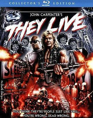 They Live (Blu-ray Disc, 2012, Collectors Edition) used