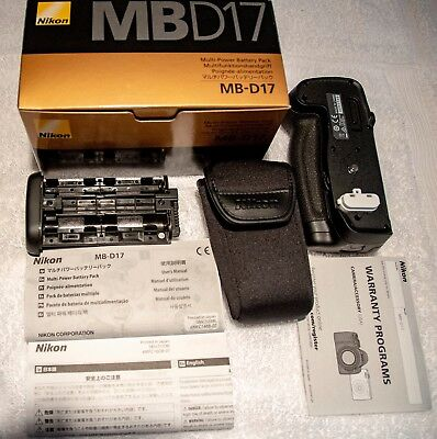 Genuine Nikon MB-D17 Multi Power Battery Pack for D500, New Original Box