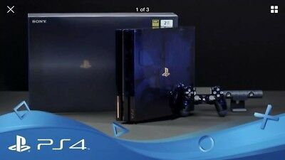 PlayStation 4 Pro PS4 Pro 500 Million Limited Edition 2TB Console - In Hand