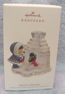 Hallmark 2018 Frosty Friends Ornament  ~  39th in Series ~ FREE SHIPPING