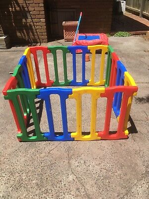 Jolly Kidz Magic Playpen Kids Children Baby Toddler Safety Yard