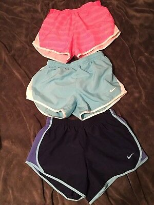 Girls/Youth Shorts NIKE Dri-Fit Lot of 3 Athletic Shorts Size M YM Medium Nice!!