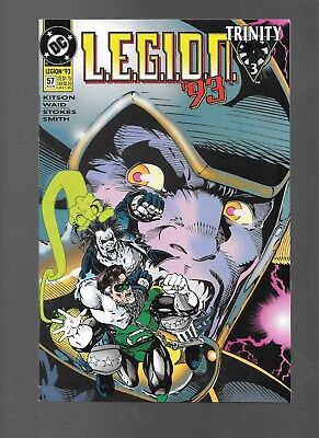 LEGION #57 (Aug, 1993) Guest-Starring Lobo Trinity Cross-Over VG+ 4.5