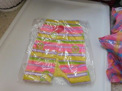 My Twinn Tagged Peace and Love Yellow Pajamas NEW In Package