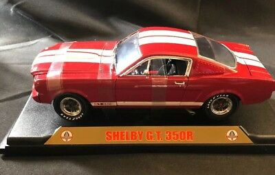 1:18 Scale Shelby G.T 350R Mustang Diecast Car NIB (E41DC)