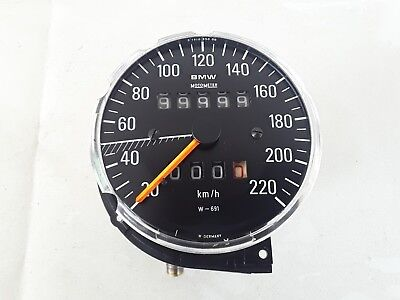 Bmw R 90 S R 100 S Rs Tachimetro Speedometer Motometer Cifre Bianche Gauge Tacho