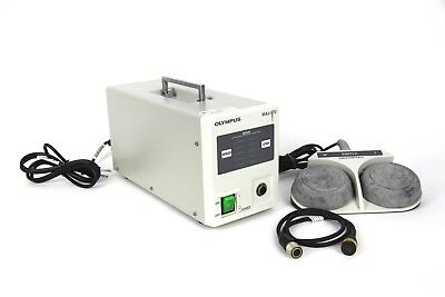 Olympus MAJ 570 Magnification Controller With Olympus Foot Switch MAJ 574